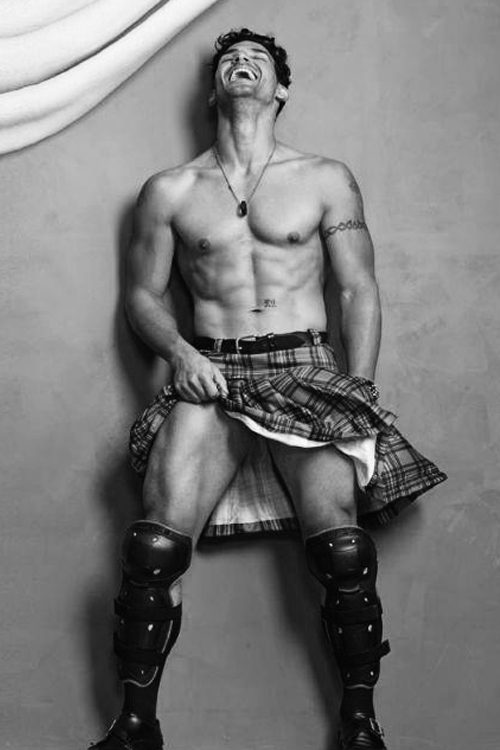 ★Wonder Hero day★ – Kilted Man
