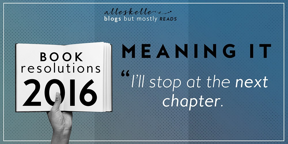 ★2016 BOOK RESOLUTIONS★ Chapter #1