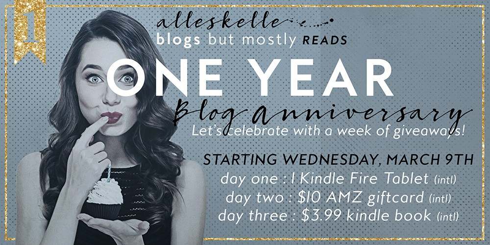 ★BLOG ANNIVERSARY + GIVEAWAY★ Just one more chapter
