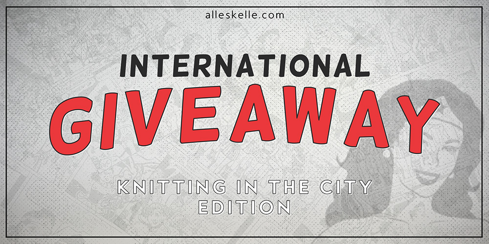 GIVEAWAY⎜Knitting in the City edition