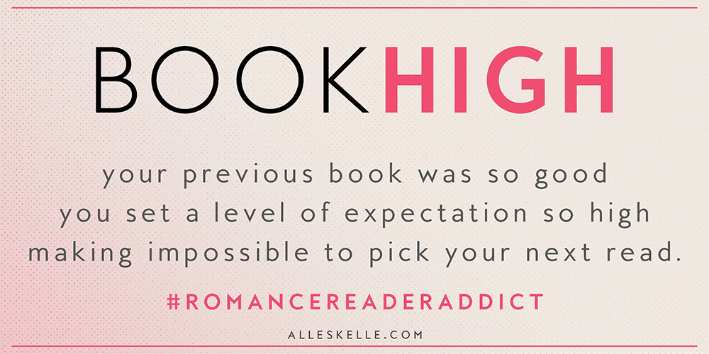 ROMANCE READER ADDICT ⎜Book High