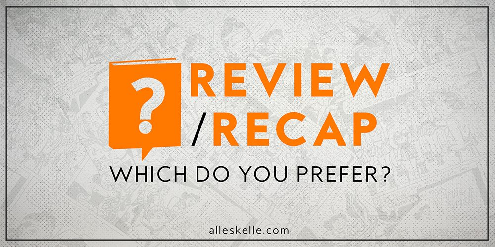 BOOK TALK ⎜Review or Recap
