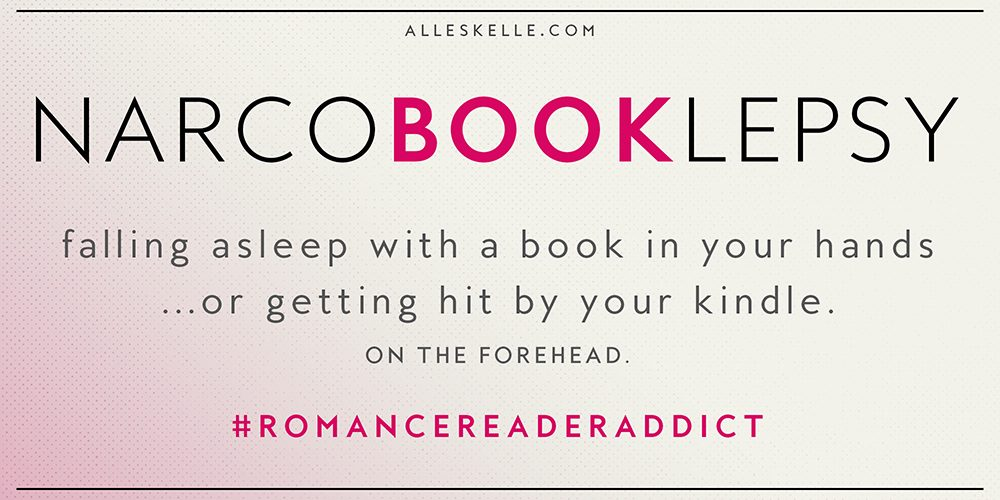ROMANCE READER ADDICT ⎜Narcobooklepsy