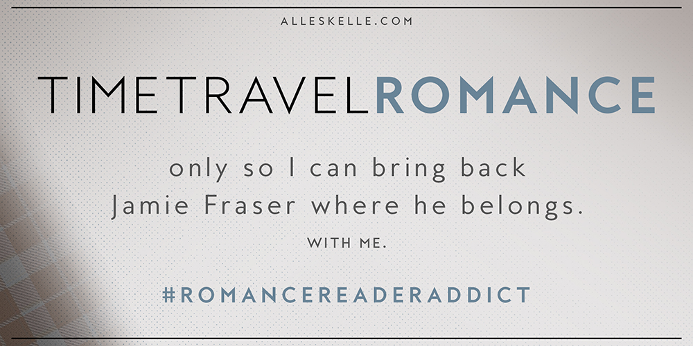 ROMANCE READER ADDICT⎜Time Travel Romance