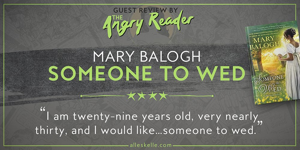 BOOK REVIEW⎜Someone to Wed by Mary Balogh