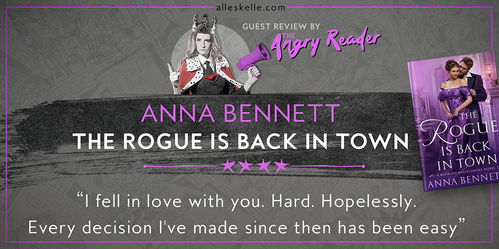 BOOK REVIEW⎜The Rogue Is Back In Town by Anna Bennett