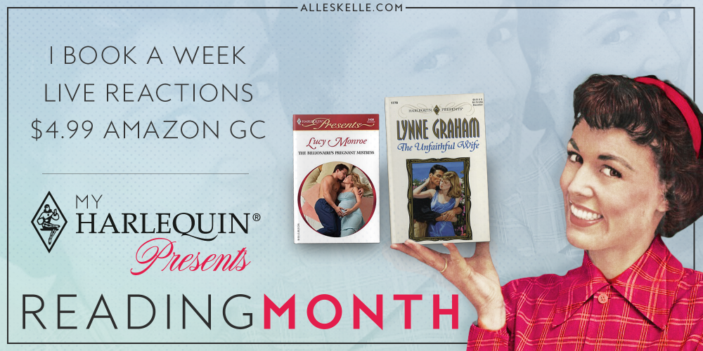 Harlequin Presents Reading Month