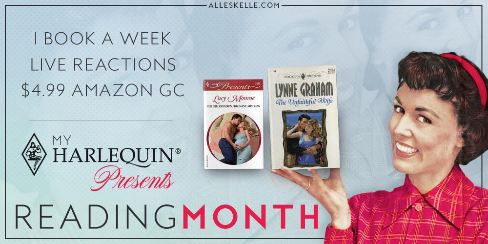 Harlequin Presents Reading Month