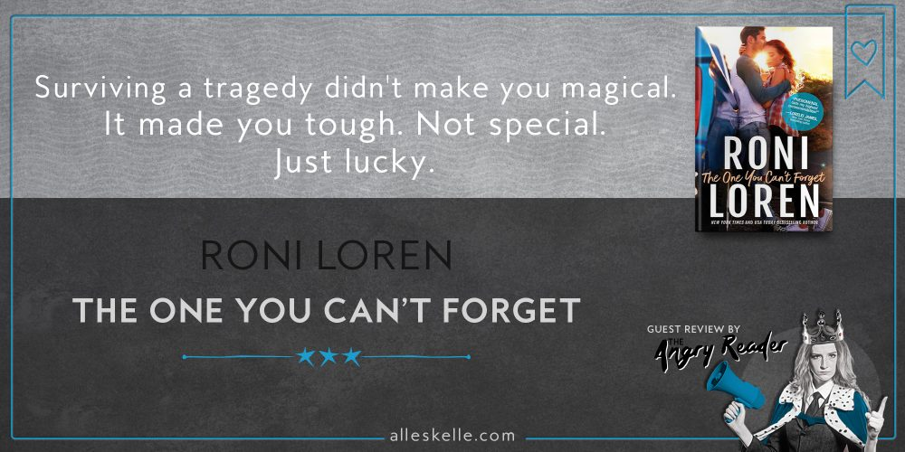 BOOK REVIEW⎜The One You Can't Forget by Roni Loren