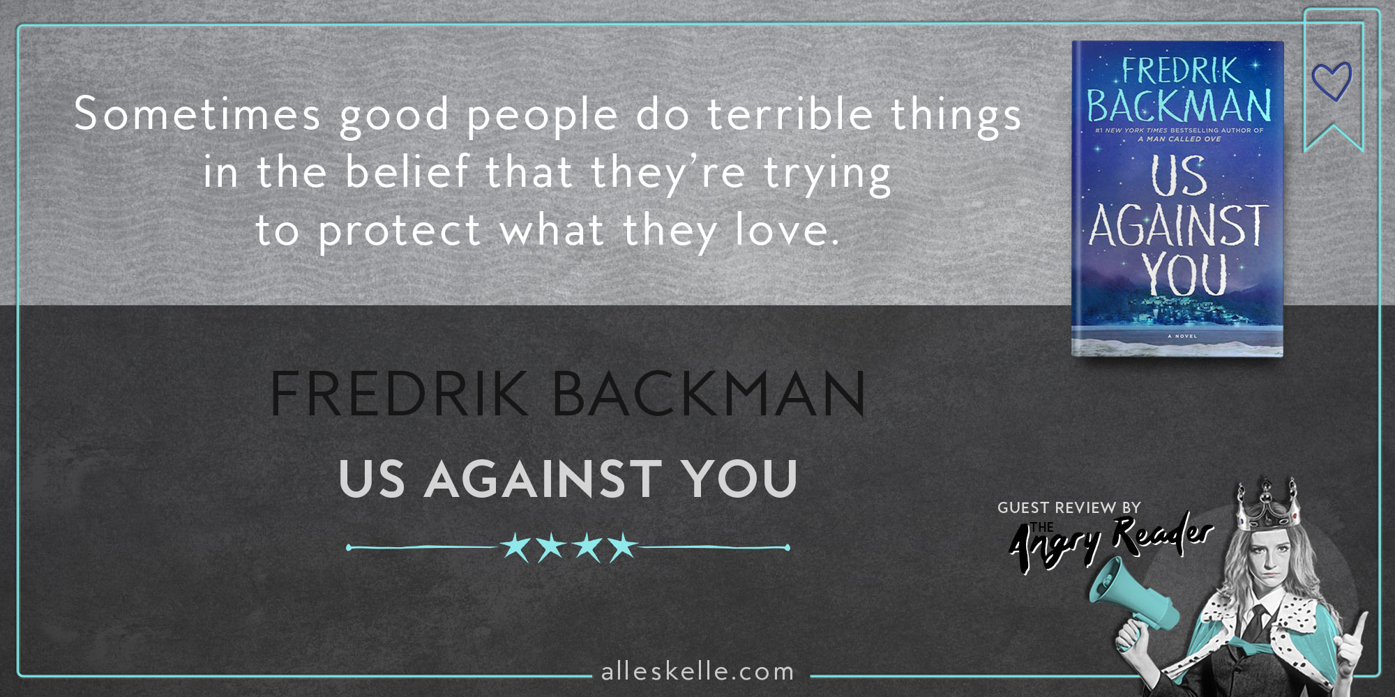 BOOK REVIEW⎜Us Against You by Fredrik Backman