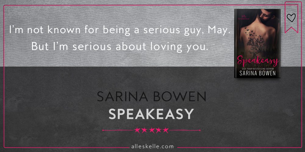 BOOK REVIEW⎜Speakeasy by Sarina Bowen