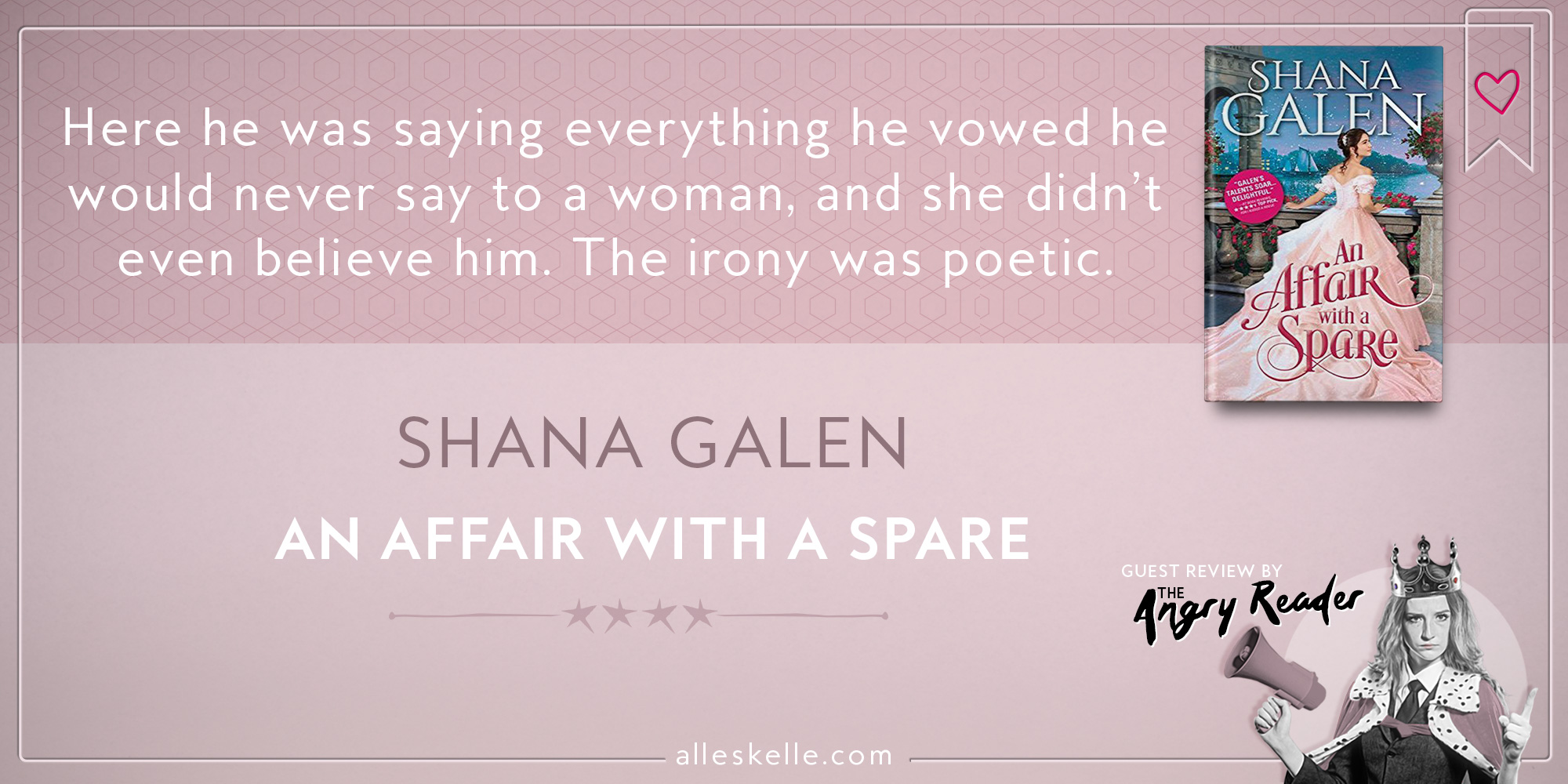 BOOK REVIEW⎜An Affair With A Spare by Shana Galen