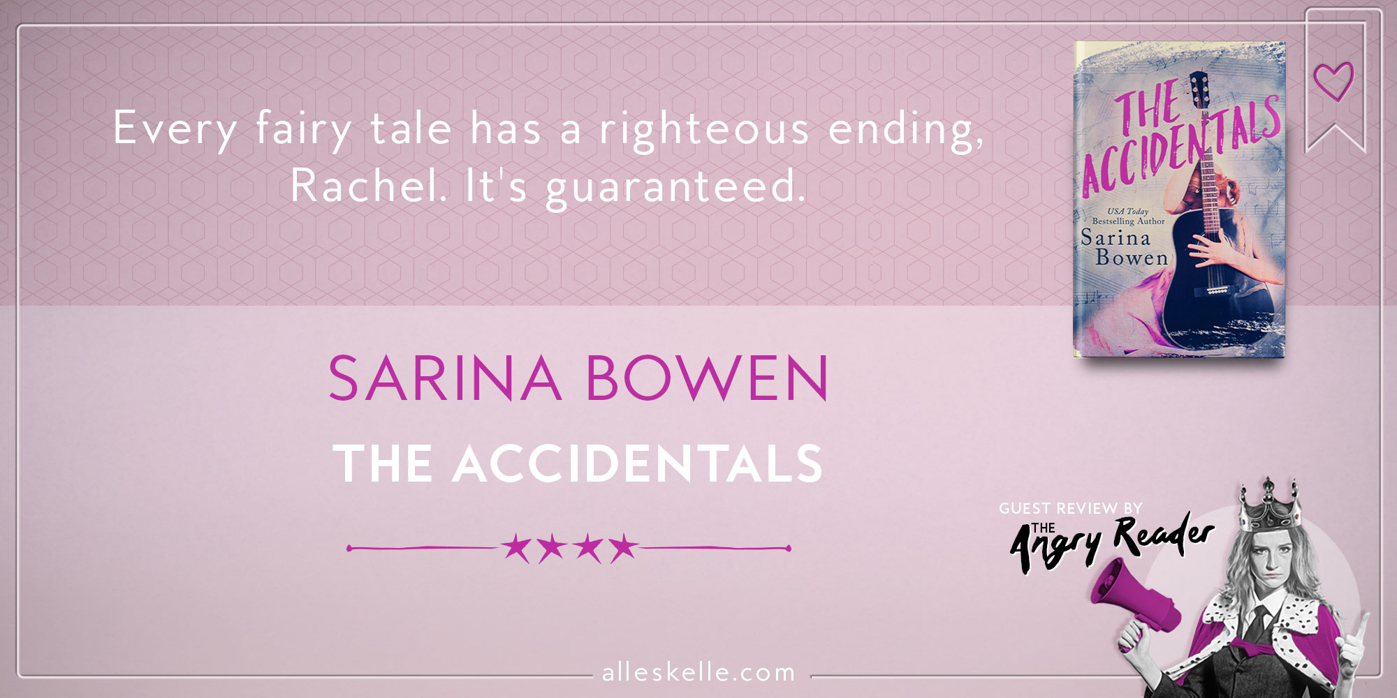 BOOK REVIEW ⎜The Accidentals by Sarina Bowen