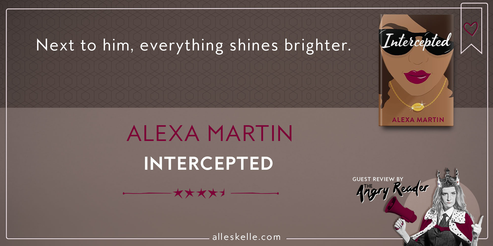 BOOK REVIEW ⎜Intercepted by Alexa Martin