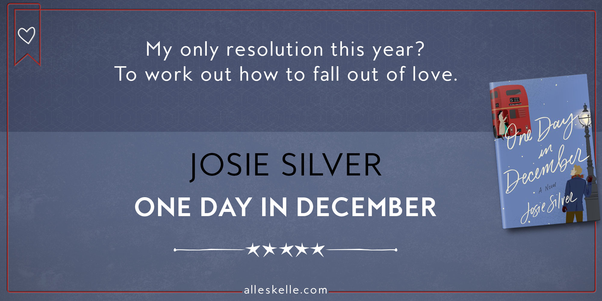 BOOK REVIEW ⎜One Day In December by Josie Silver