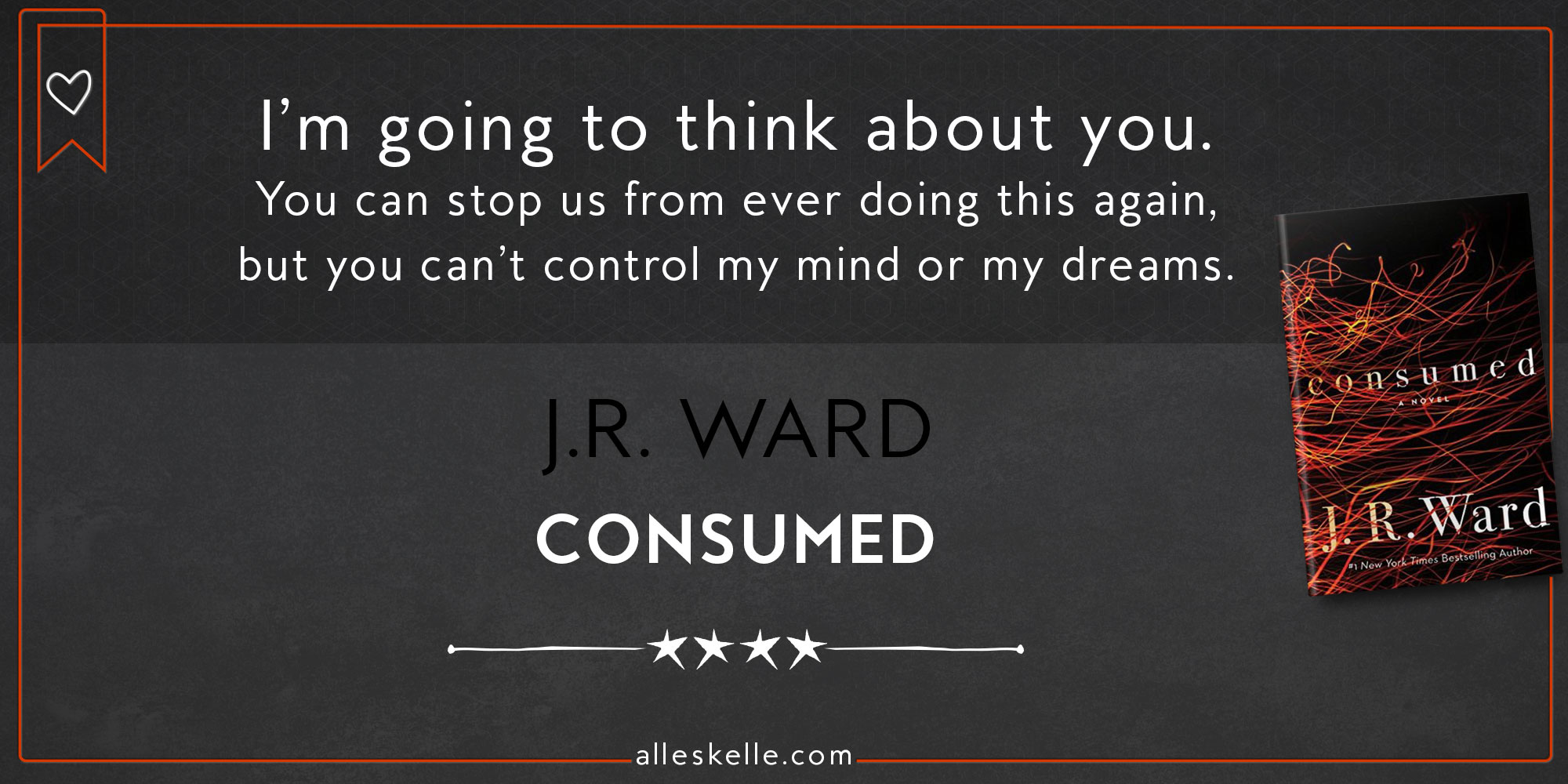 BOOK REVIEW ⎜Consumed By J.R. Ward