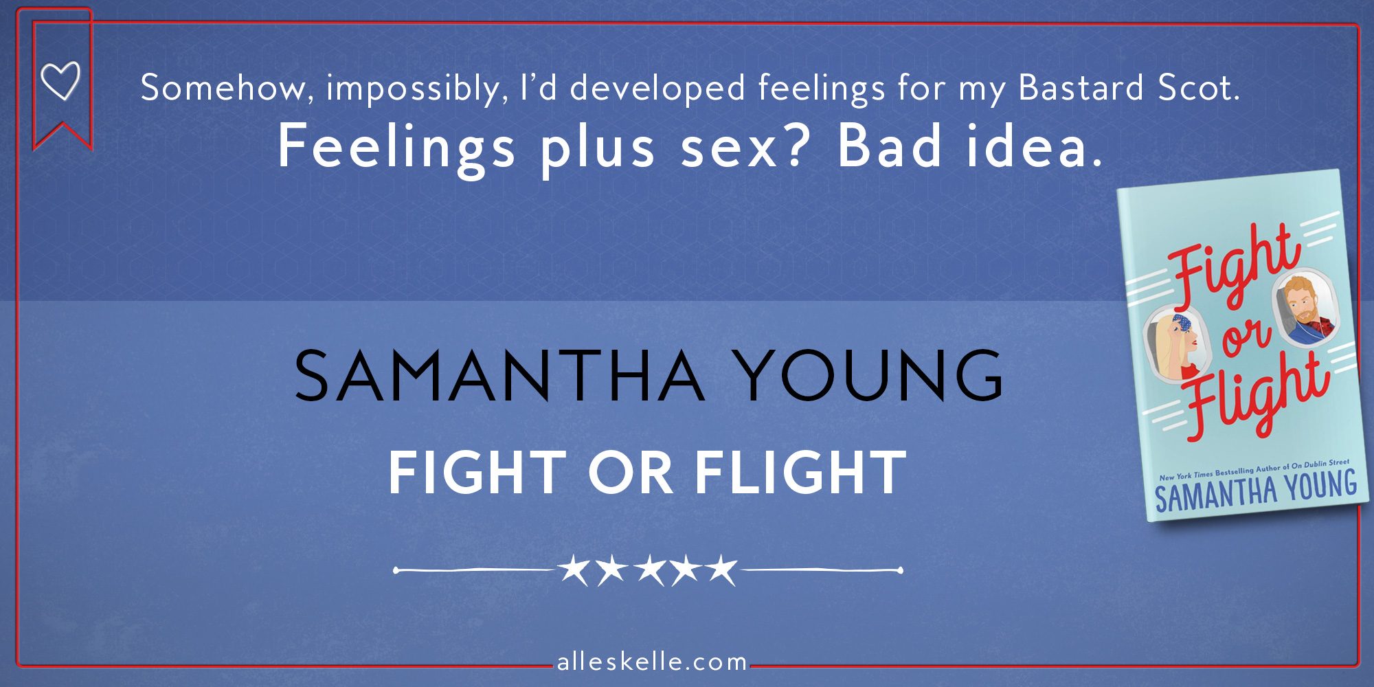 BOOK REVIEW ⎜Fight or Flight by Samantha Young