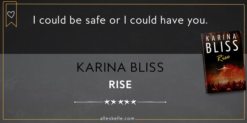 BOOK REVIEW ⎜Rise by Karina Bliss