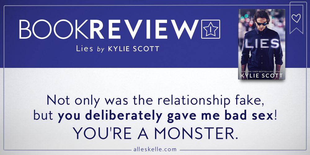 Book Review⎜Lies by Kylie Scott