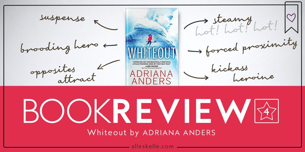 BOOK REVIEW⎜WhiteOut by Adriana Anders